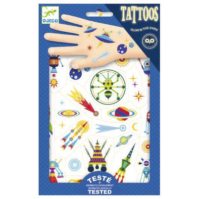 Tatouages spaces oddity - dj09590