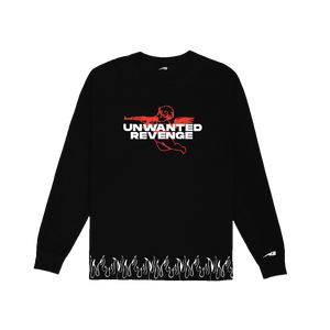 Wave Star Black/3M Long Sleeve