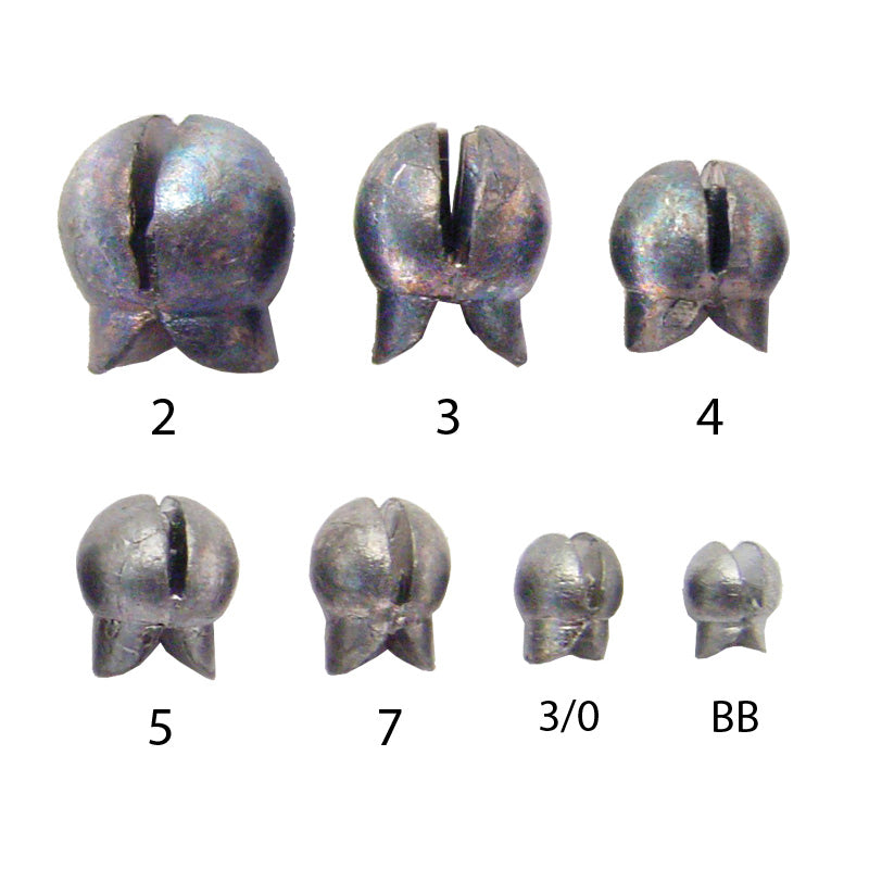 Removable Split Shot Sinkers - Maltby Sports