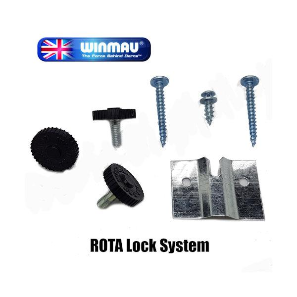 Dartboard Roto Lock Fixing Kit