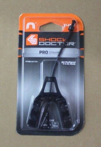 Shock Doctor Adult Pro Strapped Mouthguard (Smoke)