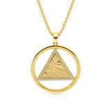 Star of David Western Wall Twist Pendant