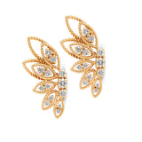0.66 carat diamond earrings