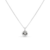 1.69  Ctw CLASSIC BLACK HALO DIAMOND PENDANT