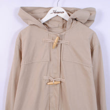 Load image into Gallery viewer, 90's Cotton Duffle Jacket In Beige Size XL