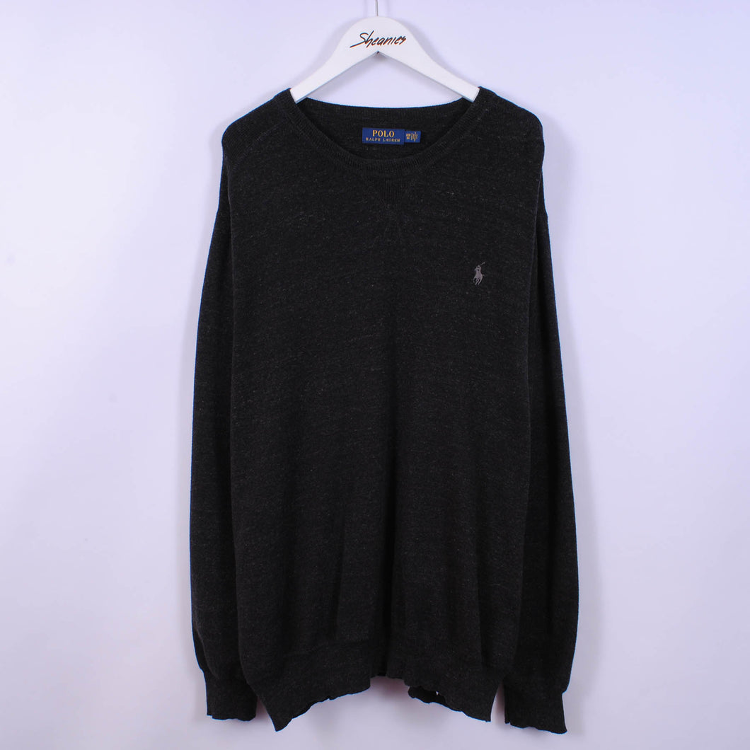 Ralph Lauren Sweatshirt In Dark Grey Size 3XL