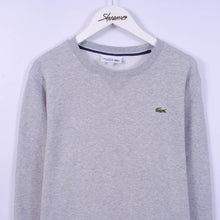 Load image into Gallery viewer, Lacoste Sweatshirt In Grey Size M