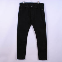 Load image into Gallery viewer, Levi's 501S Skinny Fit Jeans In Black W35 L31