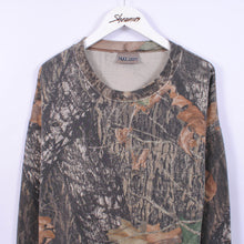 Load image into Gallery viewer, Camouflage Sweatshirt Size L