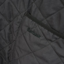 Load image into Gallery viewer, Barbour Quilted Jacket In Green w/ Cord Collar Size M