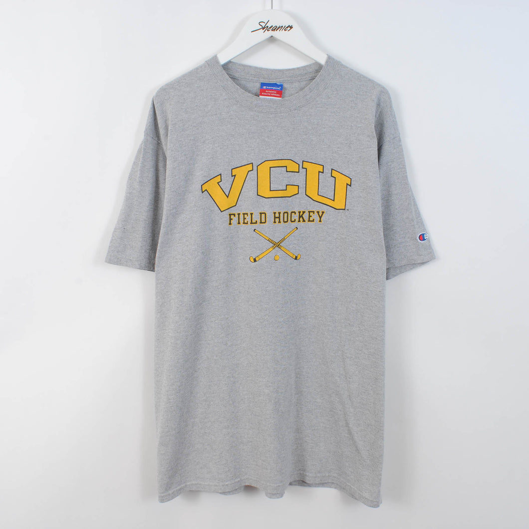 Vintage 90's Champion College Spell Out T-Shirt Size L