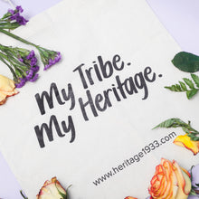 Load image into Gallery viewer, My Tribe. My Heritage. Tote