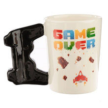 Load image into Gallery viewer, Game Over Mug with Pixel Decal