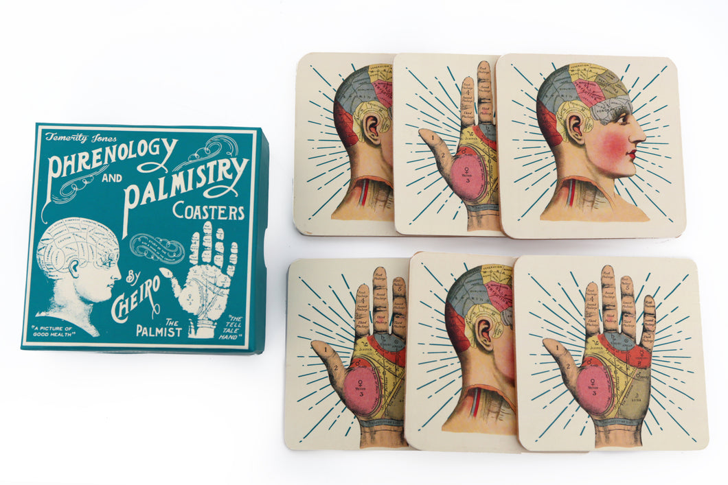 Phrenology 2 Assorted Coasters (Pack of 6)
