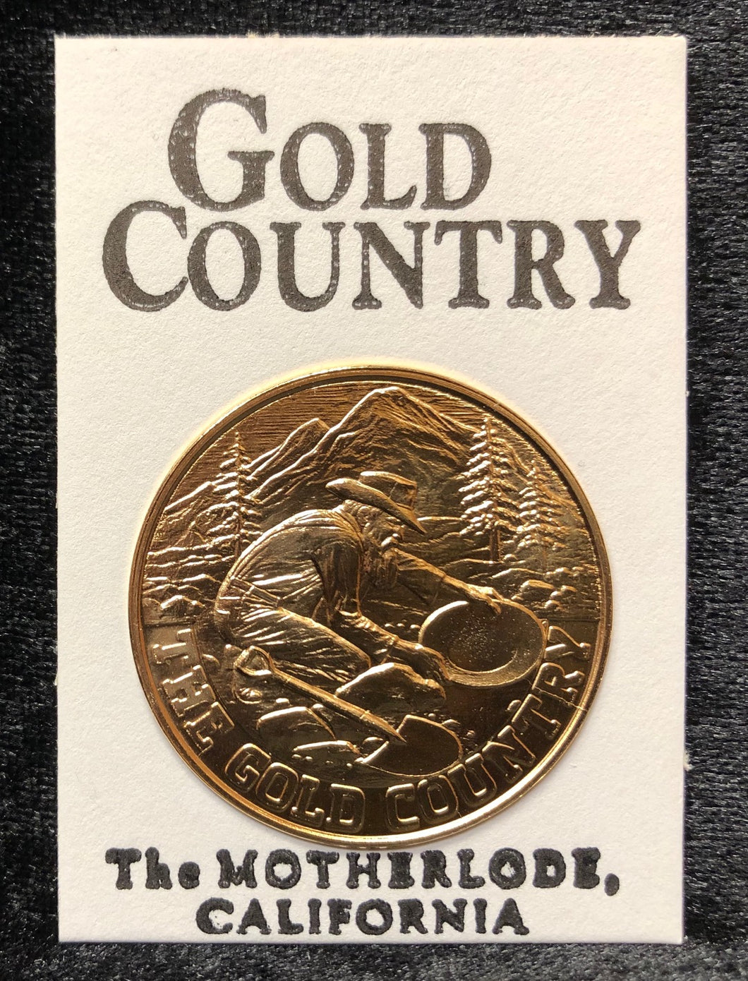 Gold Country Commemorative Coin