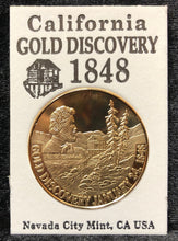 Load image into Gallery viewer, Gold Discovery Commemorative Coin
