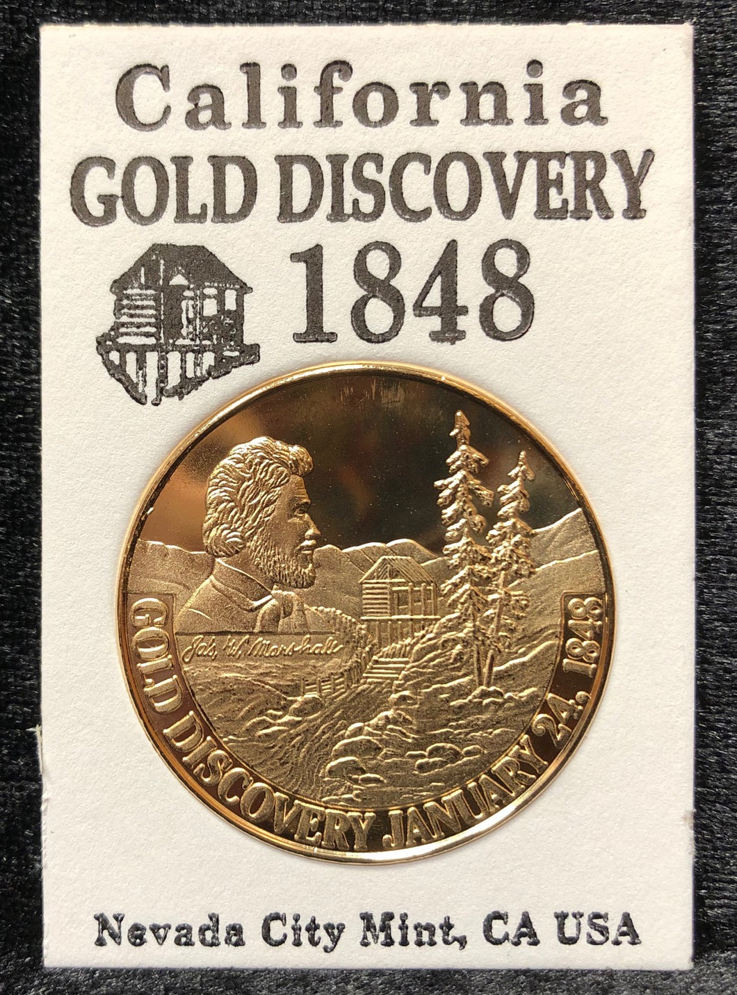 Gold Discovery Commemorative Coin