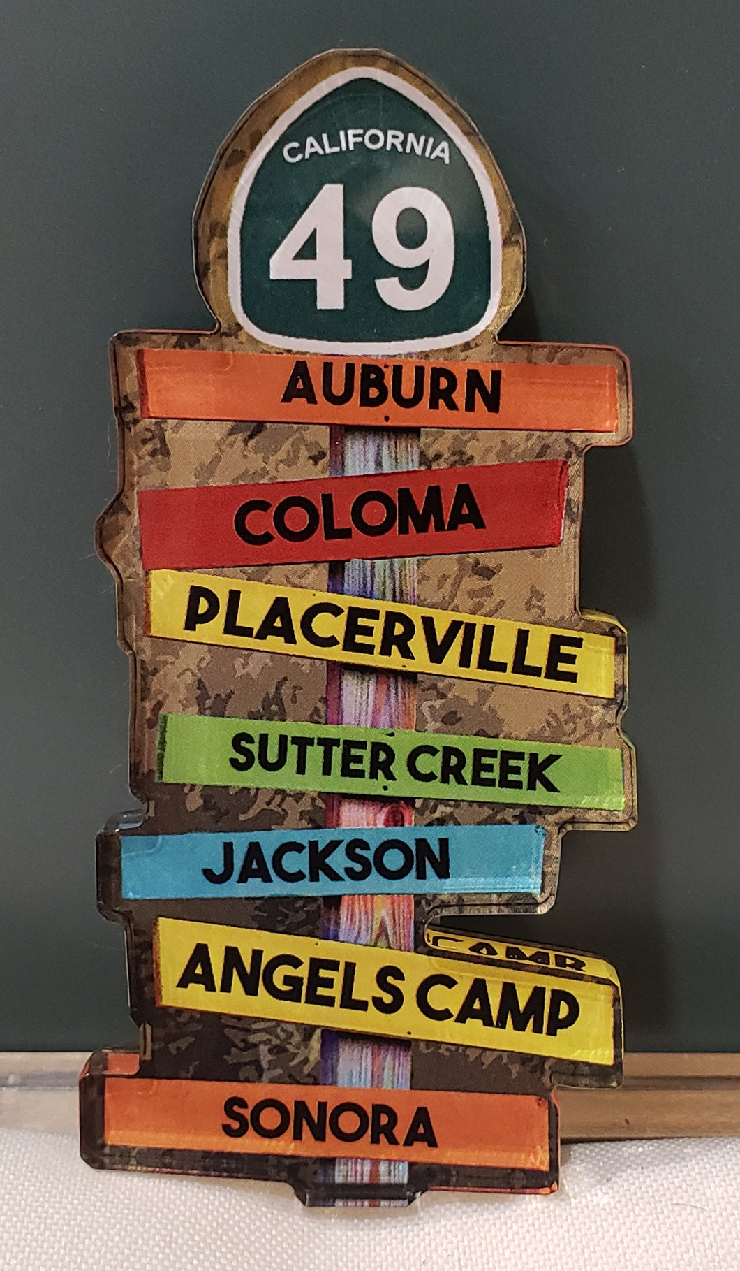 Highway 49 Road Signs Magnet