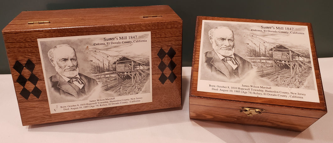 Sutter's Mill Commemorative Boxes