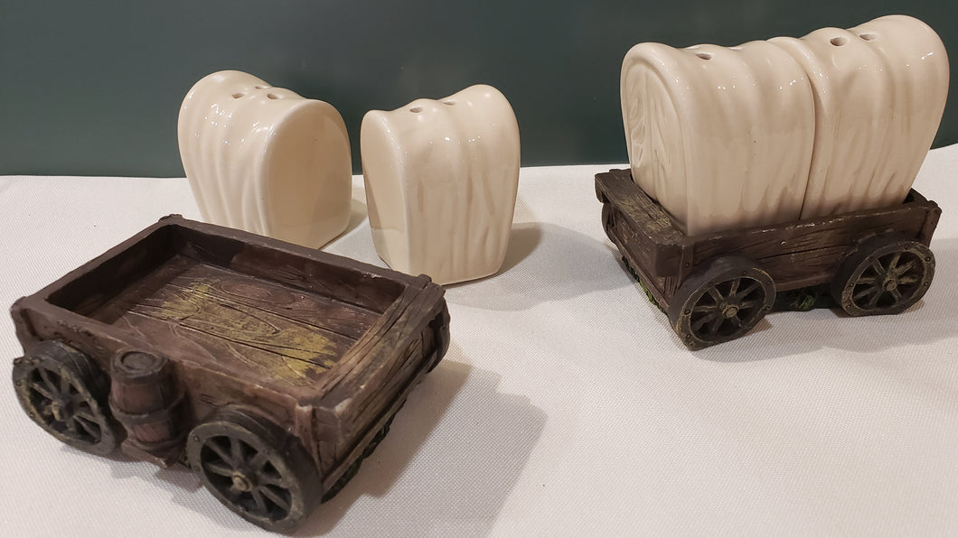 Covered Wagon Salt 'n' Pepper Shakers