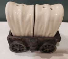 Load image into Gallery viewer, Covered Wagon Salt 'n' Pepper Shakers