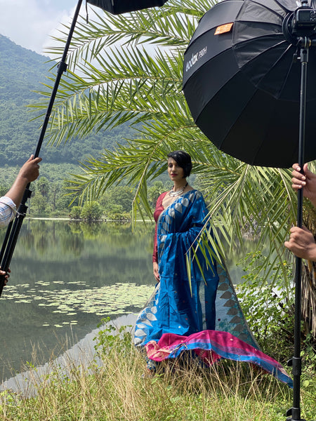 Behind the Scenes of a Saree Photoshoot- Our crazy experience in the Wild