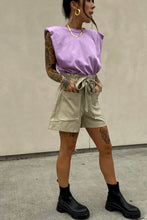Load image into Gallery viewer, Faux Leather Shorts Taupe