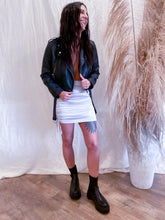 Load image into Gallery viewer, Silver Fox Cinched Skirt