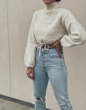 Load image into Gallery viewer, Cloud 9 Cropped Sweater