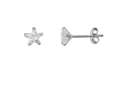 Crystal Star Stud Earrings | Tesori Bellini | Womens Jewellery Melbourne