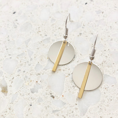 Day & Night Earrings | Tesori Bellini | Womens Jewellery Melbourne