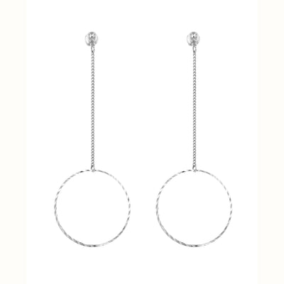 Eternity Long Drop 3.0 Earrings | Tesori Bellini | Womens Jewellery Melbourne