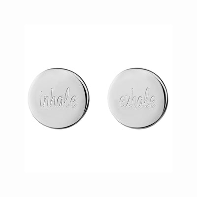 Inhale Exhale 1.2 Studs | Tesori Bellini | Womens Jewellery Melbourne