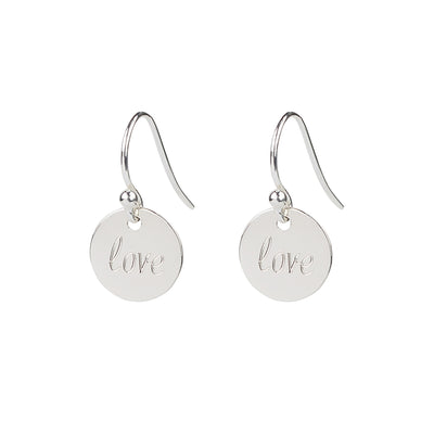 Love' Drop 1.0 Earrings | Tesori Bellini | Womens Jewellery Melbourne