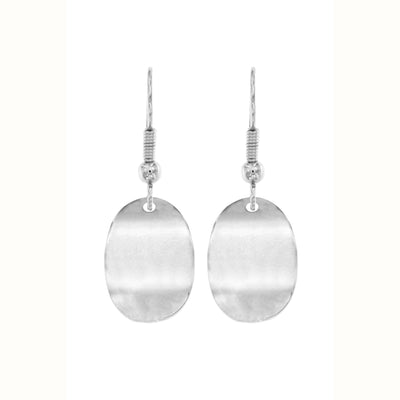 Making Waves Oval Drop Earrings | Tesori Bellini | Womens Jewellery Melbourne