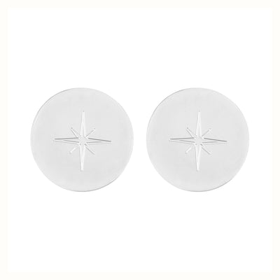 North Star 1.2 Stud Earrings | Tesori Bellini | Womens Jewellery Melbourne