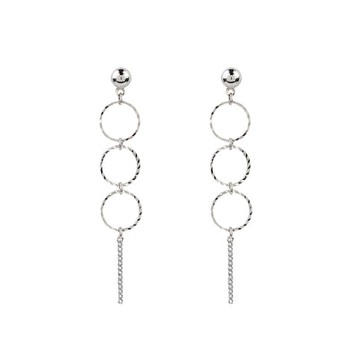 Petite Trinity Earrings | Tesori Bellini | Womens Jewellery Melbourne