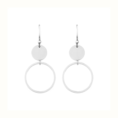 Running Rings Around Them 1.6 Earrings | Tesori Bellini | Womens Jewellery Melbourne
