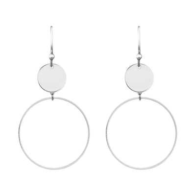 Running Rings Around Them 3.0 Earrings | Tesori Bellini | Womens Jewellery Melbourne