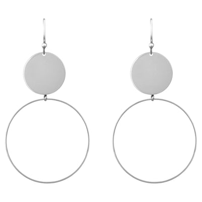 Running Rings Around Them 4.0 Earrings | Tesori Bellini | Womens Jewellery Melbourne