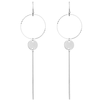 Incidental 2.5 Drop Earrings | Tesori Bellini | Womens Jewellery Melbourne