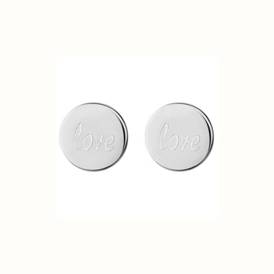 Love 0.8 Stud Earrings | Tesori Bellini | Womens Jewellery Melbourne