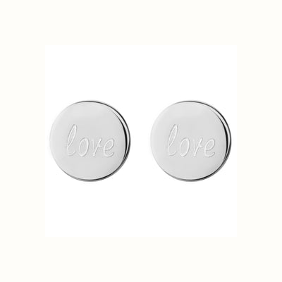 Love 1.0 Stud Earrings | Tesori Bellini | Womens Jewellery Melbourne