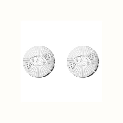 Eye of Providence & Protection 1.0 Stud Earrings | Tesori Bellini | Womens Jewellery Melbourne