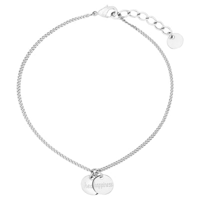 Double Sentiment 0.8 Bracelet - Health, Happiness | Tesori Bellini | Womens Jewellery Melbourne