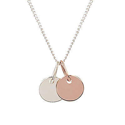 Twice as Nice 0.8 Necklace | Tesori Bellini | Womens Jewellery Melbourne