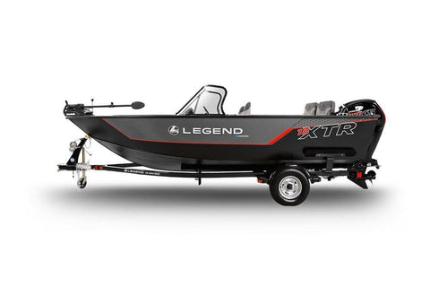 18 XTR-  With Mercury 90 ELPT 4-Stroke and Glide-on Trailer