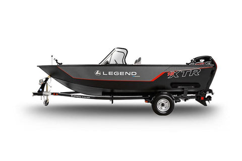 18 XTR Troller- With Mercury 90 EXLPT 4-Stroke and Glide-on Trailer