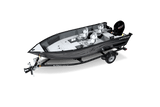 F17 Pro Tiller - with Mercury 40 ELHPT 4-Stroke Tiller and Glide-on Trailer