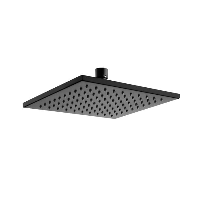 MODENA Matte Black Rain Shower Head